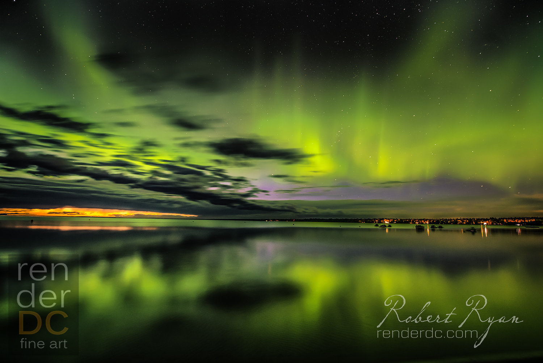 Aurora Candle 36x48
