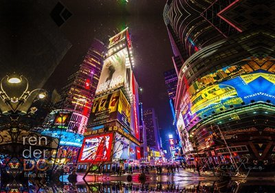 New York in a minute Times Square, New York