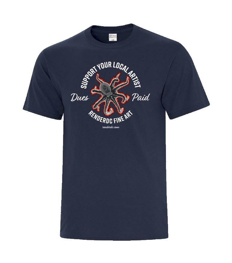 Multi tasker T-Shirt Navy Blue