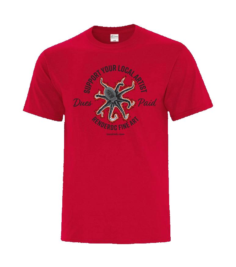 Multi tasker T-Shirt Red