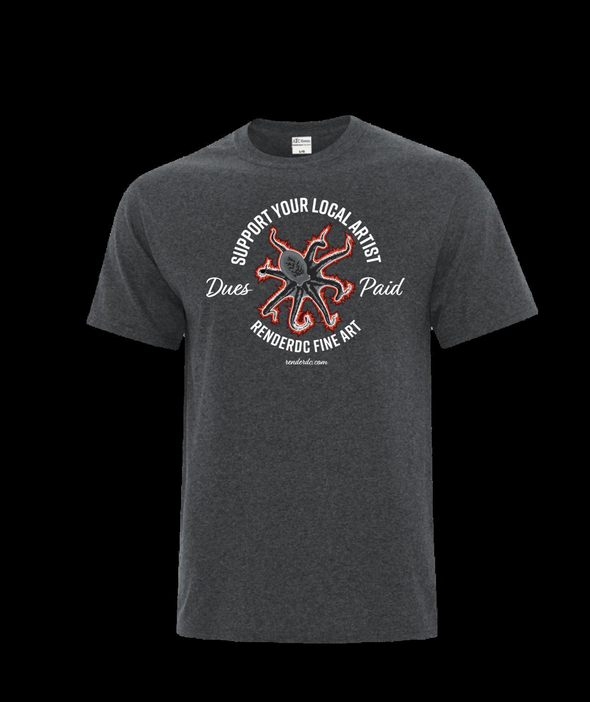 Multi tasker T-Shirt Heather Grey