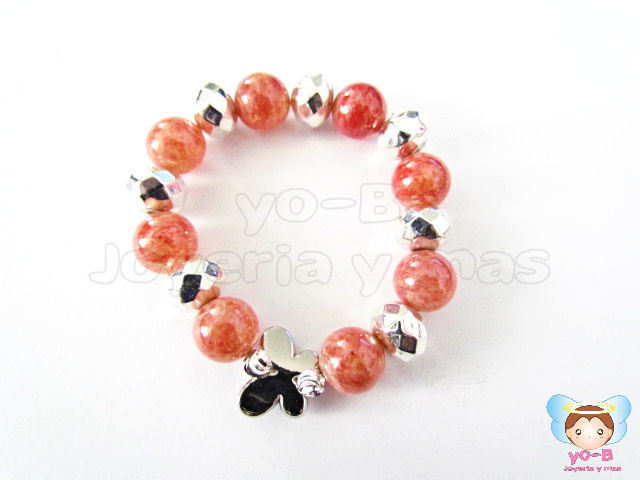 Pulsera resorte MARIPOSA