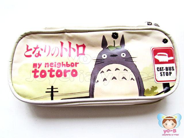 Lapicera Totoro Vinil BEIGE