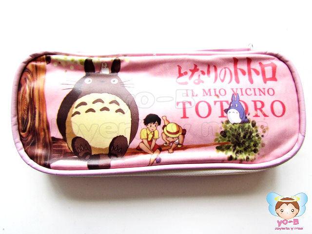 Lapicera Totoro Vinil ROSA