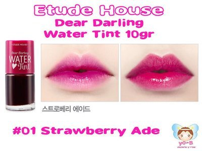 ETUDE HOUSE Dear Darling Water Tint 10g - #01 Strawberry Ade