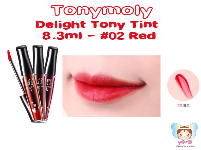 TONYMOLY Delight Tony Tint 8.3ml - #02 Red