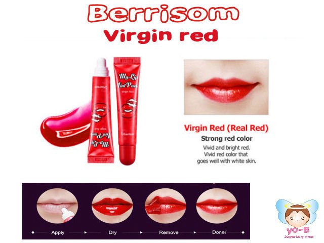 BERRISOM Oops My Lip Tint Pack Virgin Red