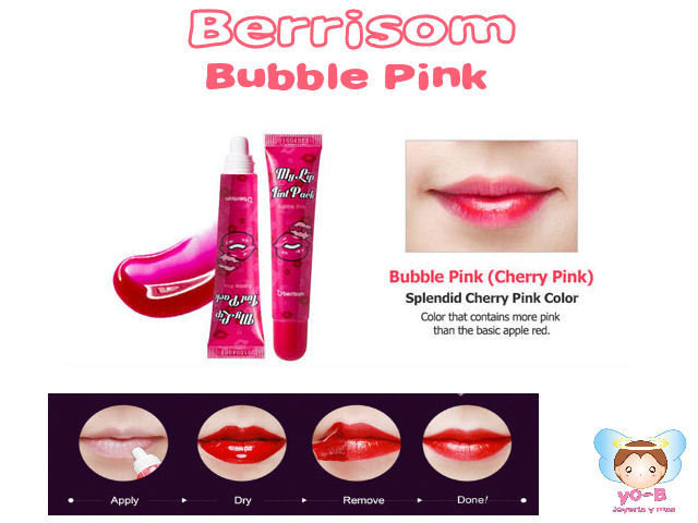Tinta para labios BERRISOM Oops My Lip Tint Pack Bubble Pink