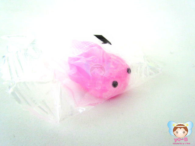 Squishy mochi mini PEZ ROSA
