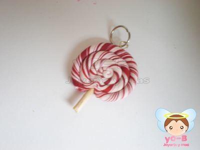 Plug paleta de caramelo chica menta