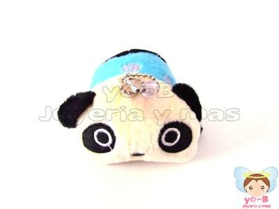 Peluche Panda AZUL