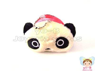 Peluche Panda ROJO