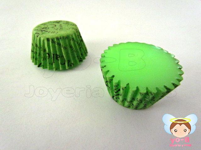 Base cupcake VERDE