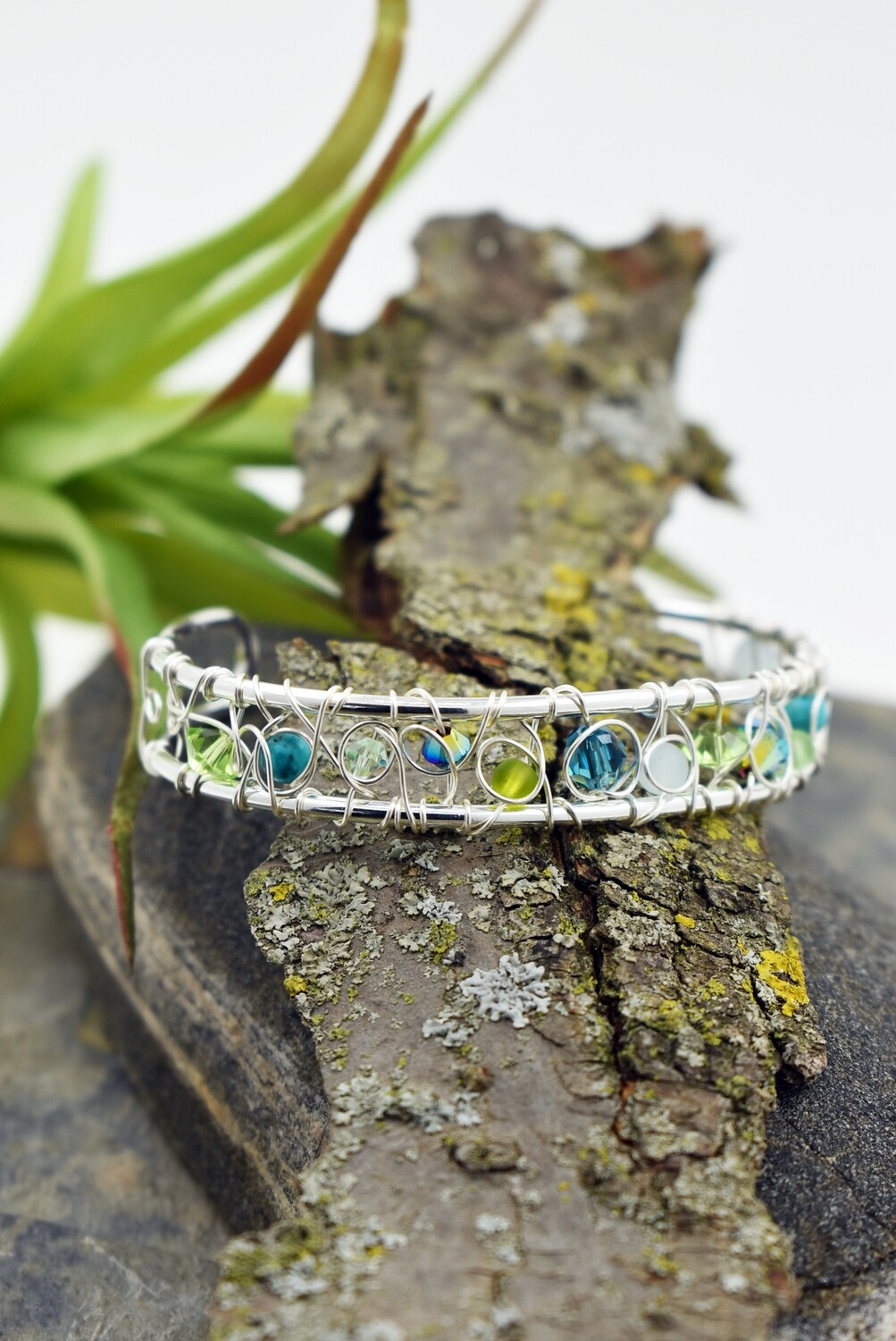 Signature Wire Woven Cuff Bracelet - Matching earrings available