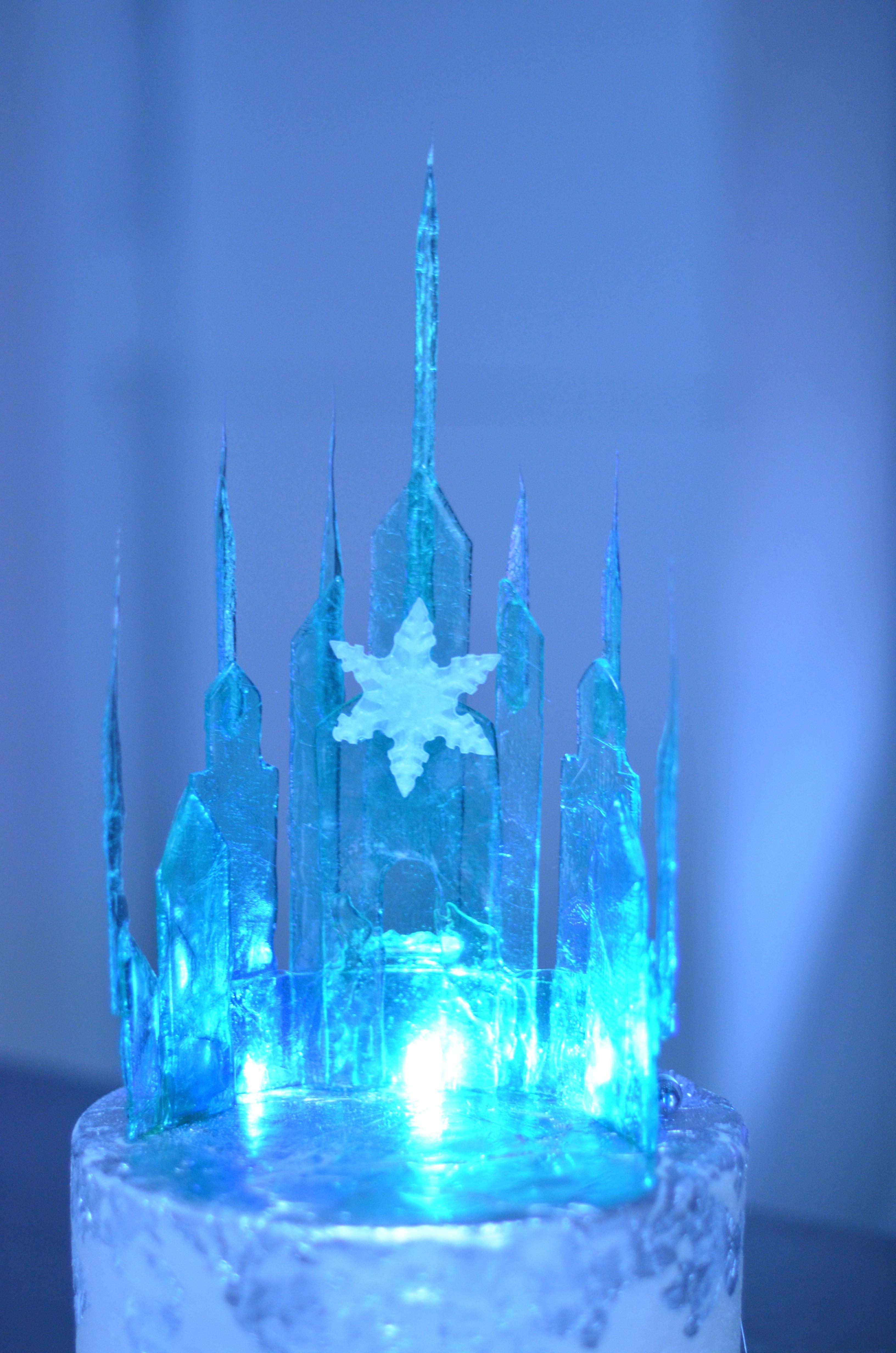 Disney Castle Cake Topper Birthday
