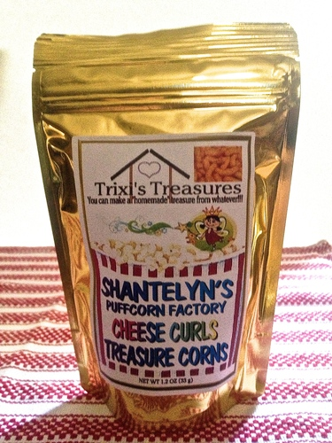 CHEDDAR CURLS TREASURE CORNS (1 PK)