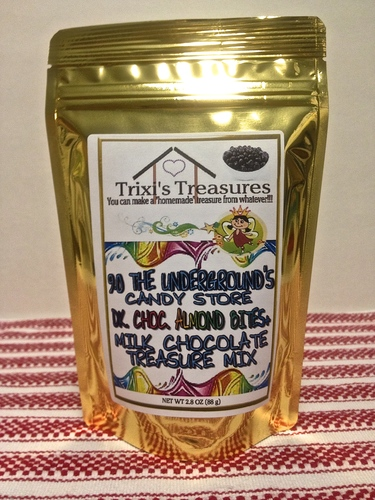 DARK CHOCOLATE ALMOND BITES+ MILK CHOCOLATE TREASURE MIX (1 PK)