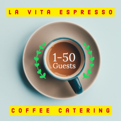 Coffee Catering 1-50 Guests
