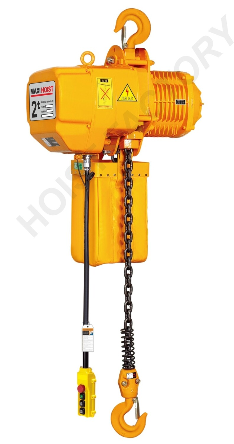 2000KG MAXIHOIST / 1 SPEED / 1 FALL / 380V