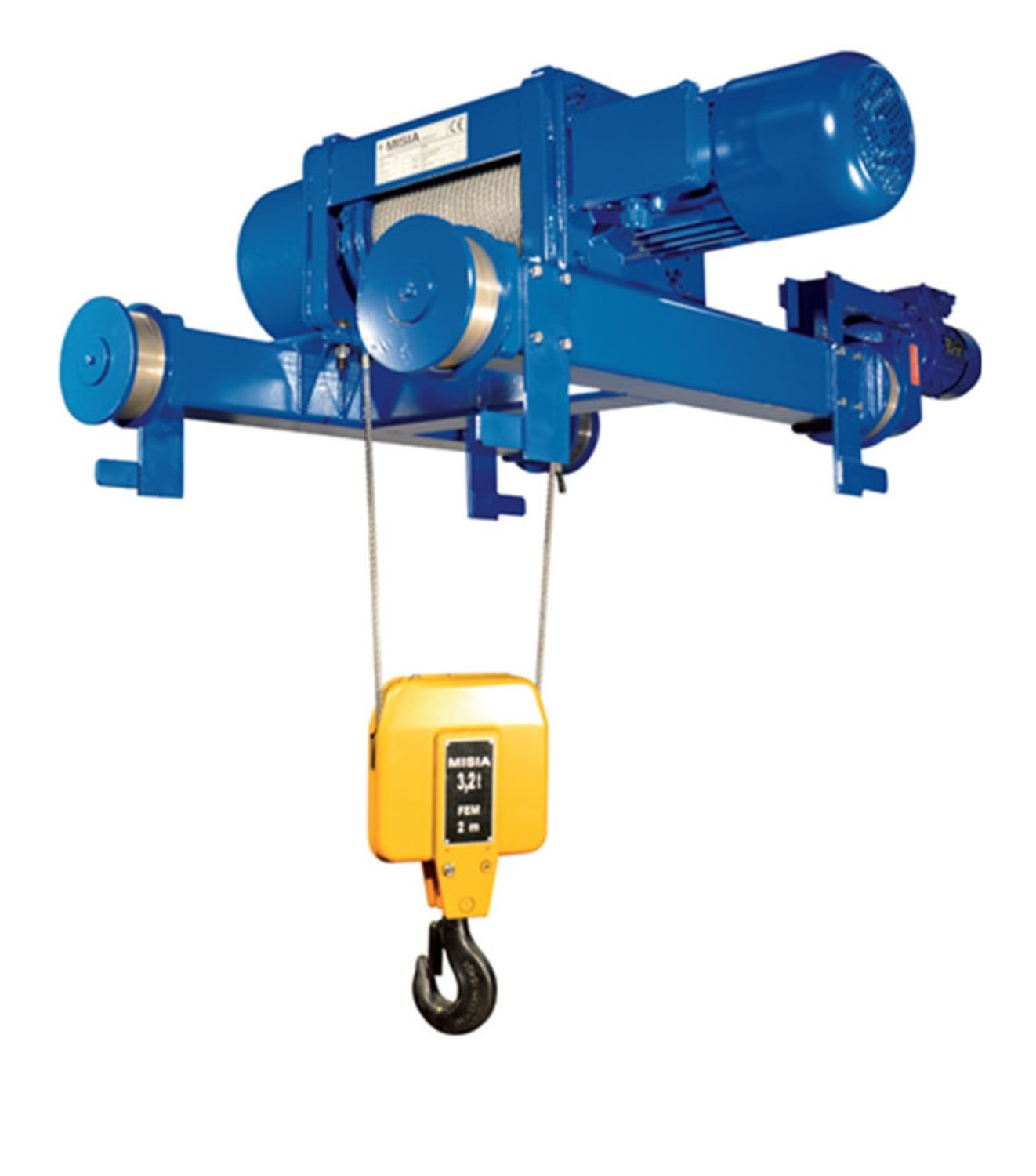 MISIA HOIST 5,000 KG / 7 M FOUR WHEEL CARRIAGE