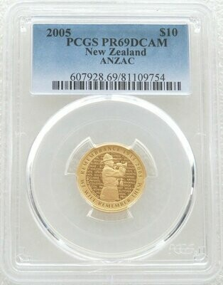 2005 GALLIPOLI Silver Proof Coin