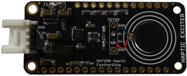 FeatherWing - Haptic DA7280 with Coin Motor (Preorder)
