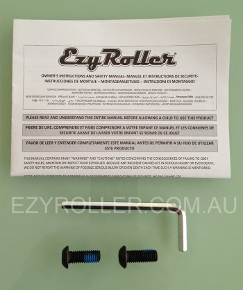 Ezyroller Classic Screws & Tools