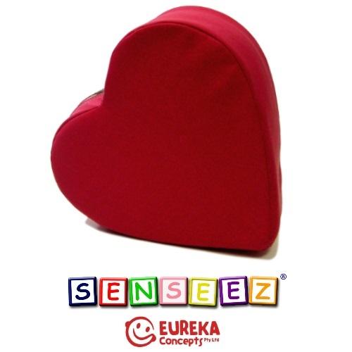 Senseez vibrating cushion - Pink Heart (vinyl)