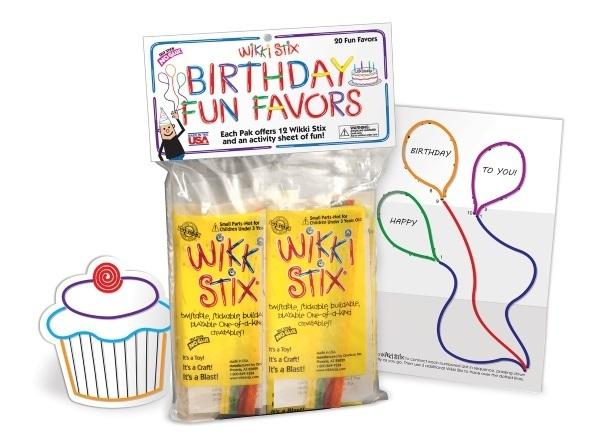 Wikki Stix Birthday Pack
