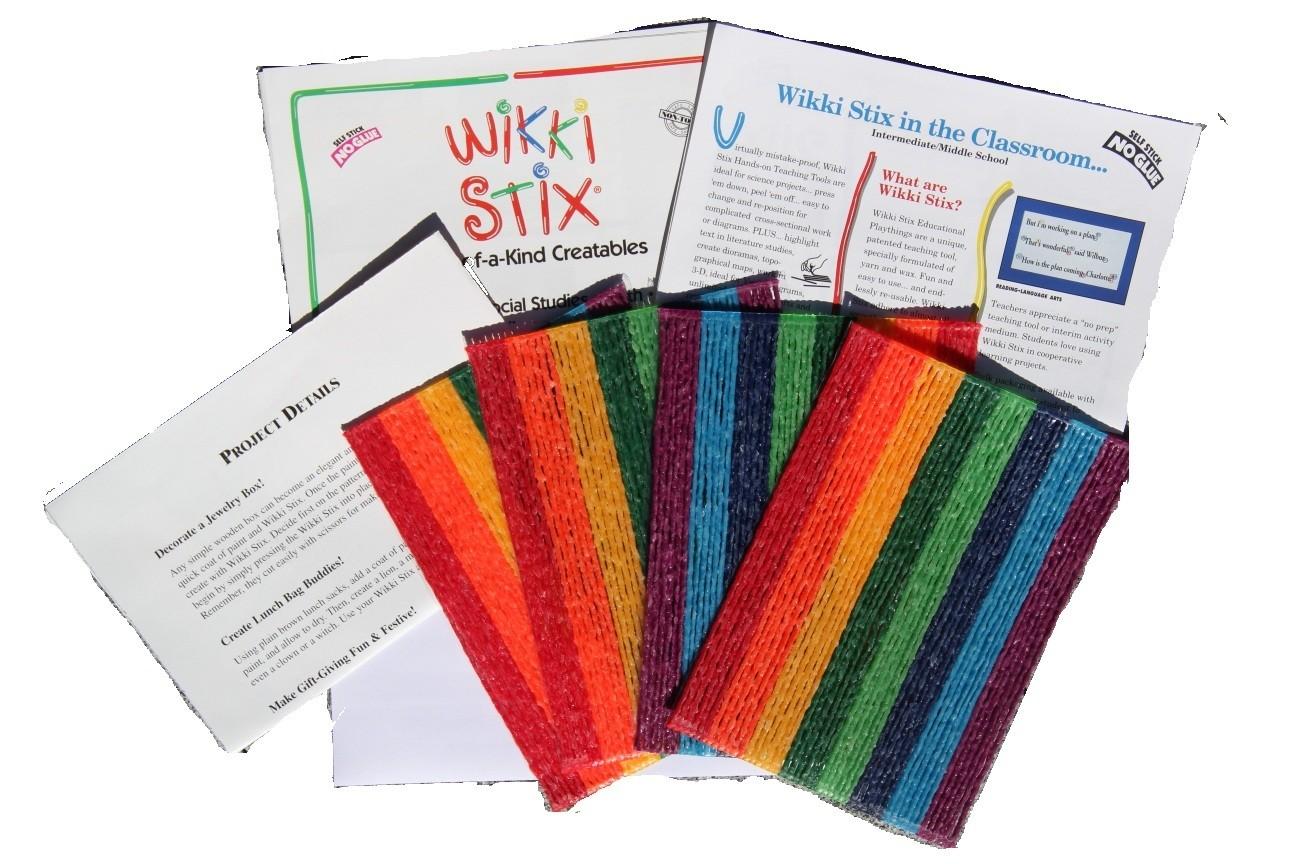 Wikki Stix 192 Bulk Pack