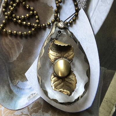 Antique Chandelier Necklace
