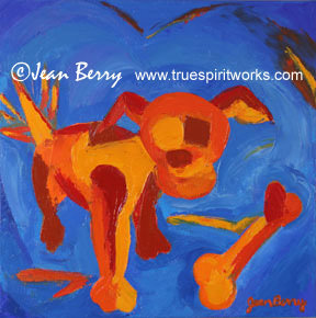 Puppy Love Original Oil Painting
