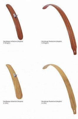 Parafanghi in legno