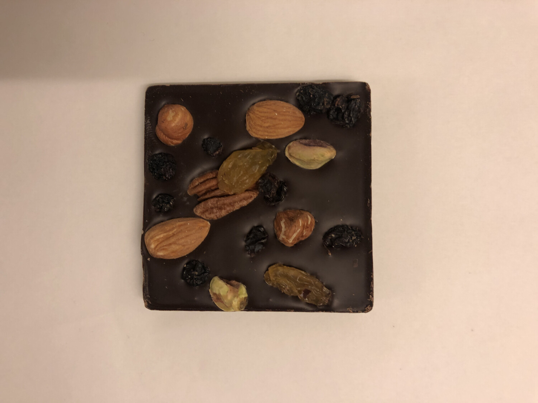 Belu Choco Bar Nuts and Fruits Dark