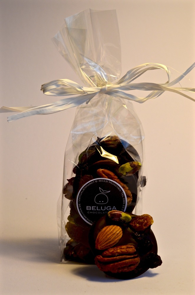 Mendiants in a bag, Nuts & Fruits Dark