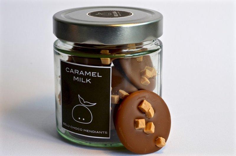 Glass Mendiants Caramel