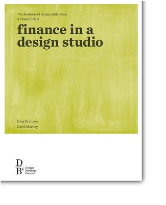 Finance in a studio ebook