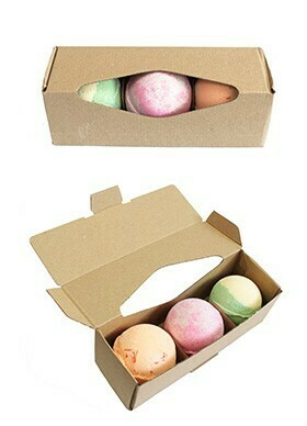 3 Random Dessert Bath Bombs