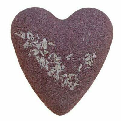 Megafizz Bath Heart - After Dark Chocolate