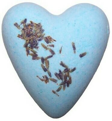 Megafizz Bath Heart - Lavender