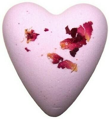 Megafizz Bath Heart - Rose