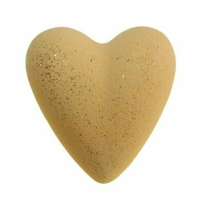 Christmas Day Bath Heart - Yellow