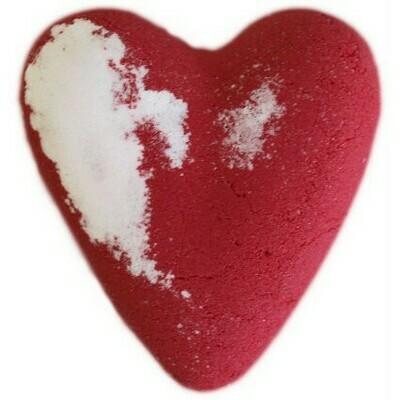 Megafizz Bath Heart - Eve - Red
