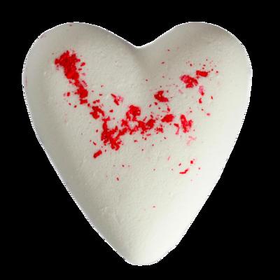 Megafizz Bath Heart - White Musk