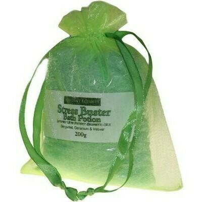 Stress Buster Potion - Bergamot, Geranium & Vetiver - 200gr