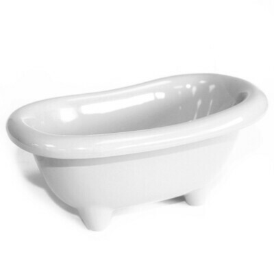 Ceramic Mini Bath - White