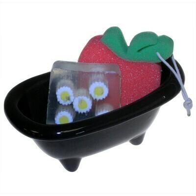 Ceramic Mini Bath - Black