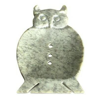 Large Soapstone Dish - Owl