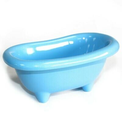 Ceramic Mini Bath - Baby Blue