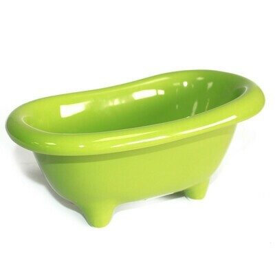 Ceramic Mini Bath - Green
